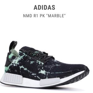 """Adidas NMD """"Green Marble"""" Size 8"""
